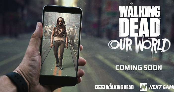 The Walking Dead Our World AR Game